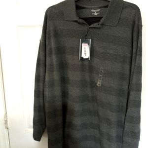 Roundtree & Yorke long sleeve polo XL